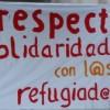 Solidaritätserklärung mit den Flüchtlingen in der besetzten Schule in Berlin